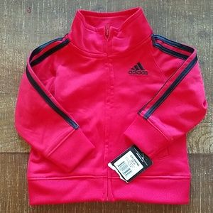 Adidas Red Track Jacket NWT 9months